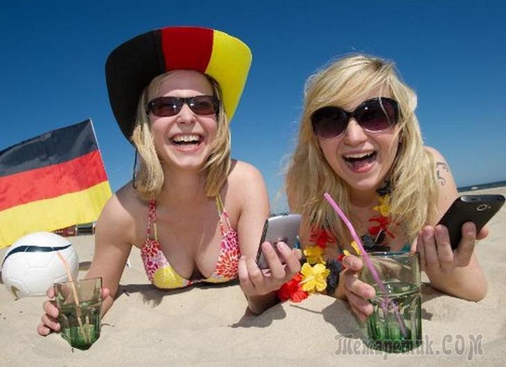 Немецкие дамы на отдыхе