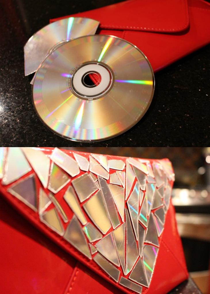 поделки из сд дисков своими руками