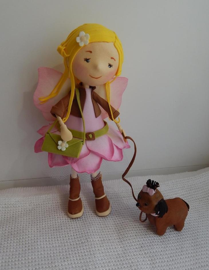 нужно кукла из фоамирана своими руками материалы
