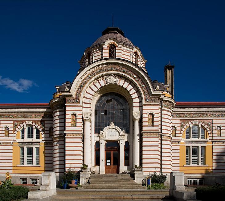 Минеральная баня в Софии