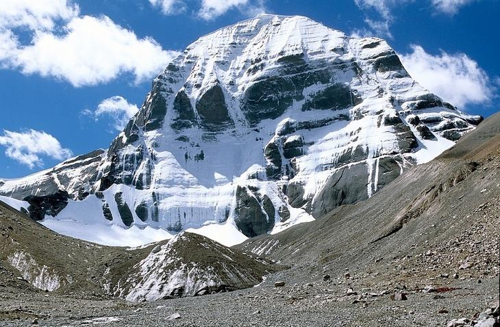 Священное место Тибета - Кайлас, описание, легенды, фото