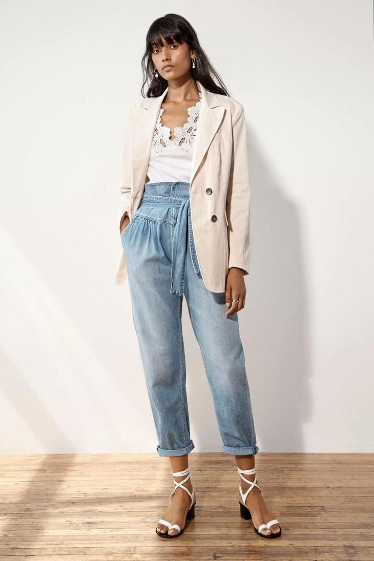 Клипарт девушки в рваных джинсах — pic 12