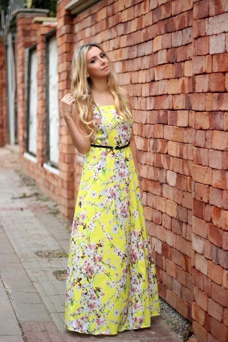 Фасоны летних платьев для женщин 40 лет