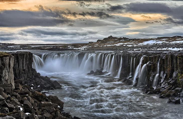 Водопад Селфосс