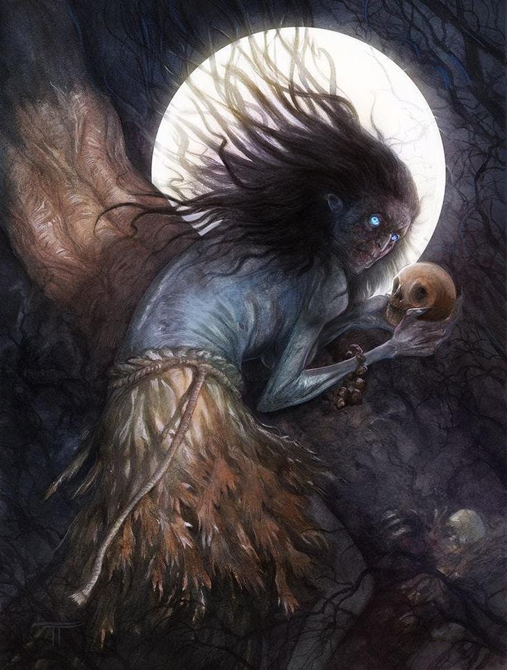 Черная Эннис интересно, легенды, мифы, познавательно, религия, страхи человечества, страшно, чудовища