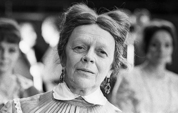 10 любопытных фактов о советской актрисе Татьяне Пельтцер