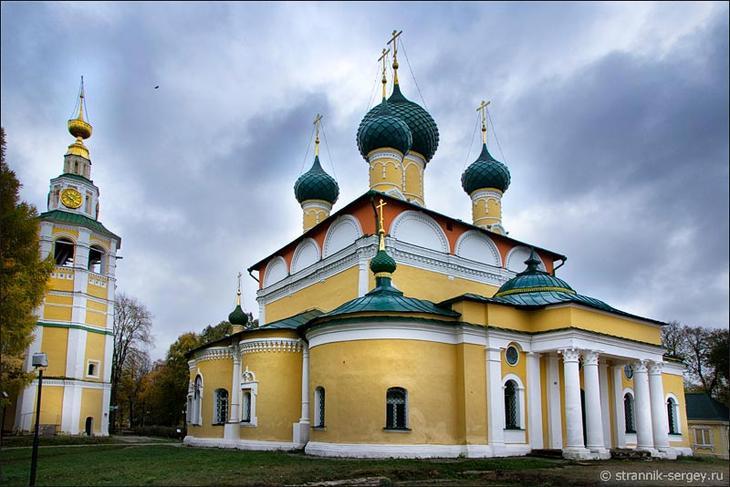 Углич - фото: Спасо-Преображенский собор