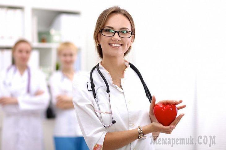 Симптомы больного сердца у человека