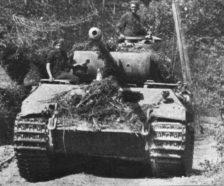 Танк Пантера – могильщик Третьего Рейха?