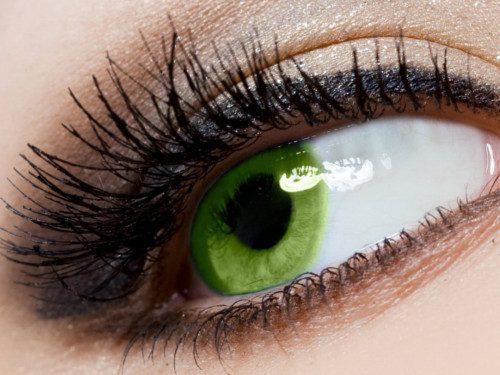 Темно зеленые глаза значение