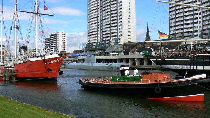 Рядом с Бременом можно посетить Музей судоходства