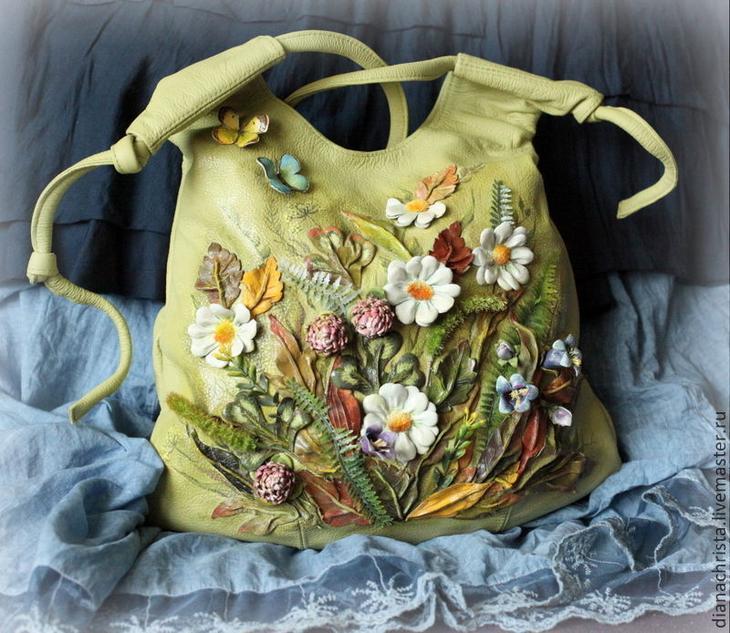 Шедевральные дизайнерские сумочки от Дианы Светличной