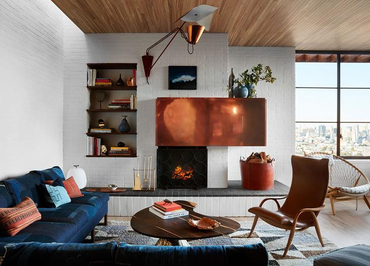 Дом в Сан-Франциско с обилием дерева в интерьере и потрясающим видом на город
