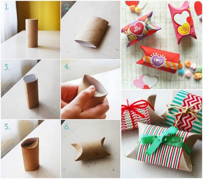 Оригинальные способы использования картонных втулок от туалетной бумаги