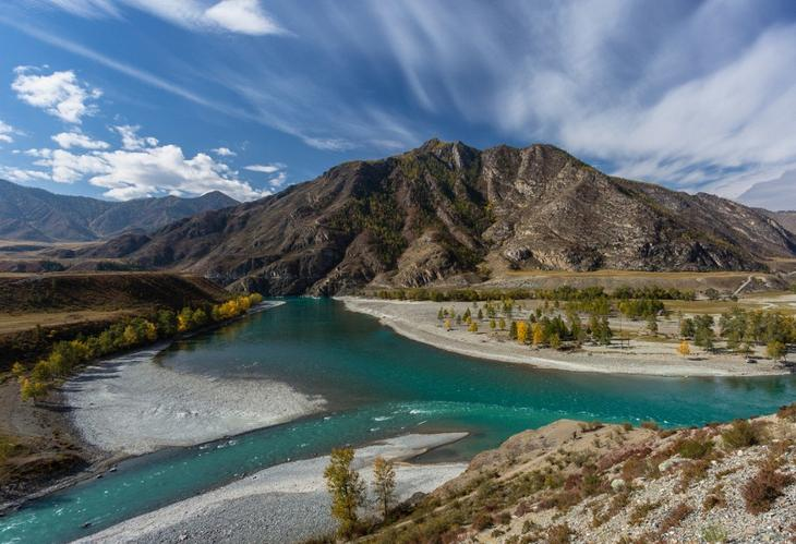 Reka Chuya krasota Altaya 9