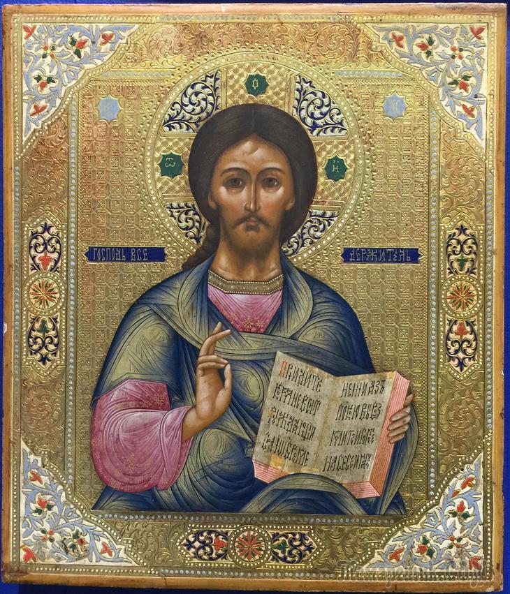 Православная икона - икона Спасителя