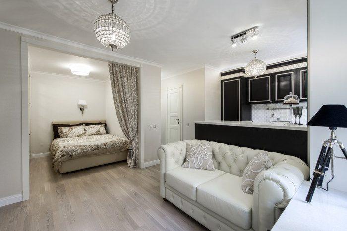 Московская квартира, в которой всё грамотно организовано