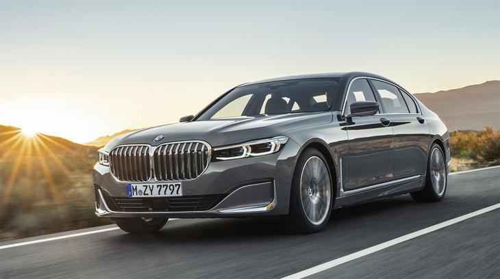фото BMW 7-Series 2021-2020
