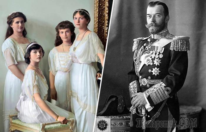 Почему Николай II не выдал замуж своих трёх старших дочерей