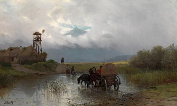 художник Лев Лагорио картины – 20