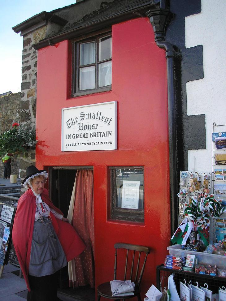 Самый маленький дом Великобритании