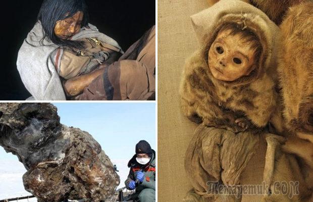 Жуткие вещи, которые были найдены во льдах