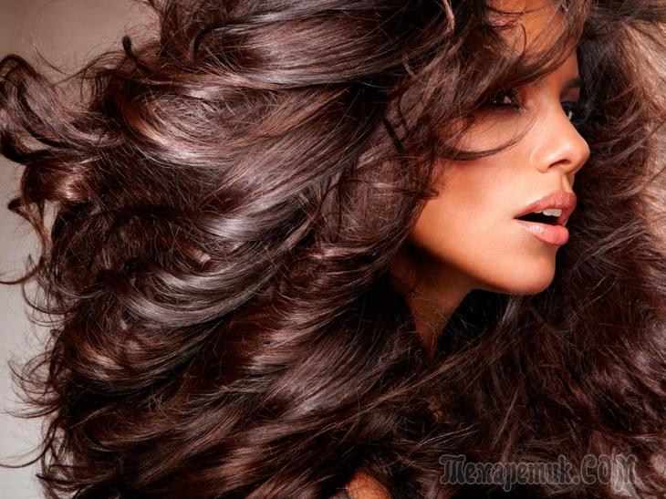 Способ придать объем волосам