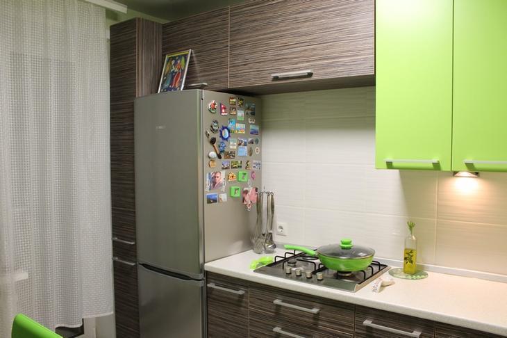 Наша кухня с каждым днем мне нравится все больше и больше