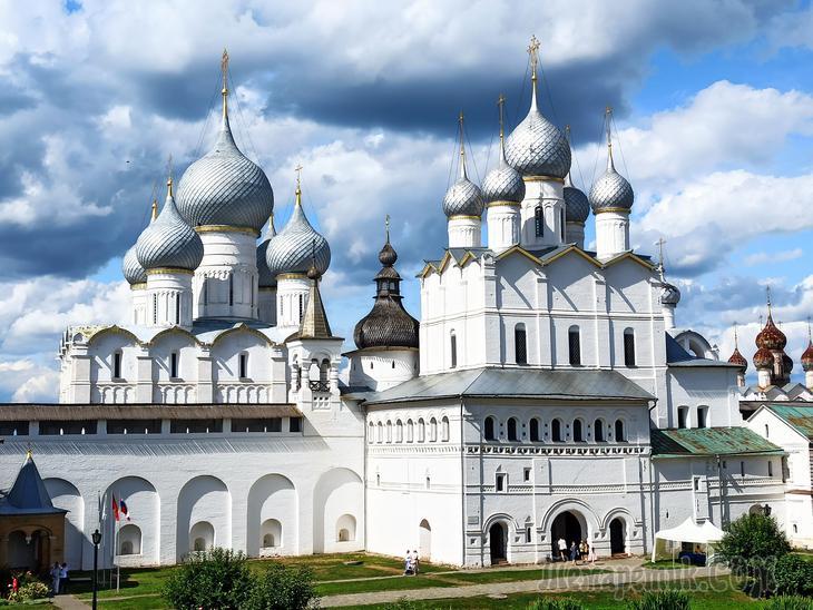 Ростовский кремль. Посещаю впервые