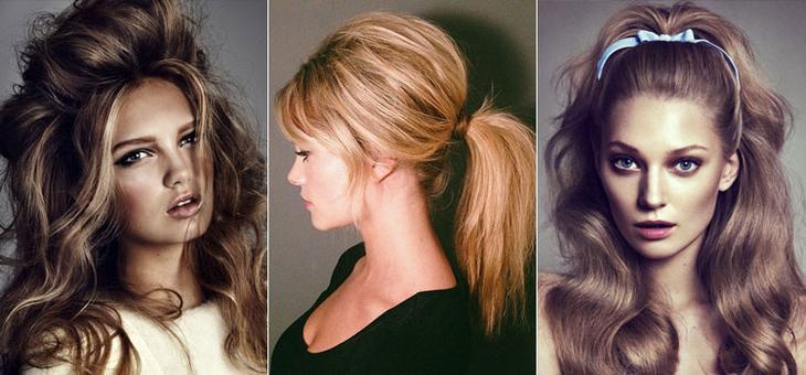 Вечерние прически на средние волосы в стиле Брижит Бардо