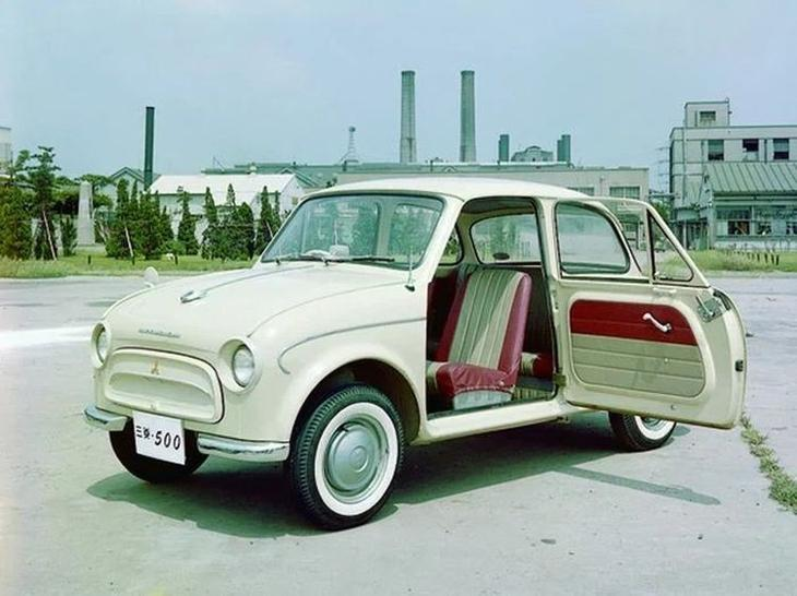«Японский Запорожец» — каким был Mitsubishi 500