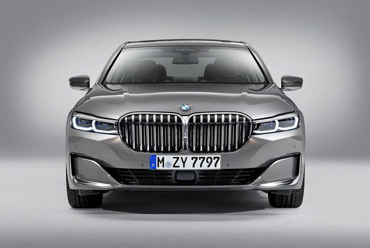 фотографии BMW 7-Series 2021-2020 вид спереди