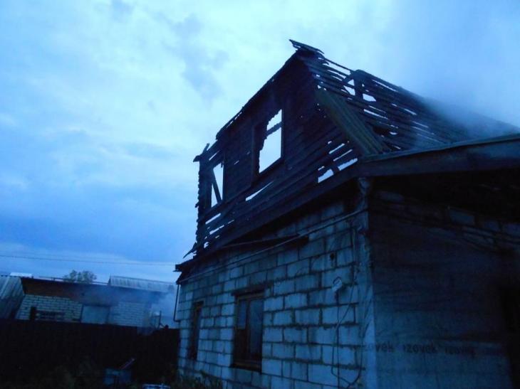 Сонник обгоревший дом
