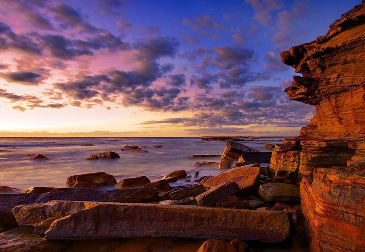 NewPix.ru - Живописная красота пляжа Туриметта (Turimetta Beach)