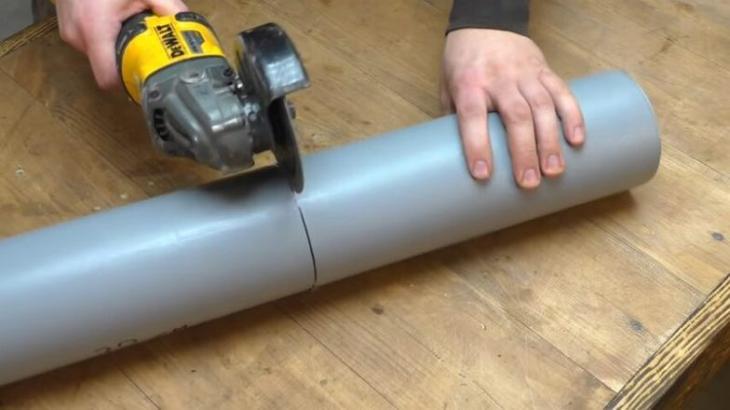 Что можно сделать из пластиковой трубы