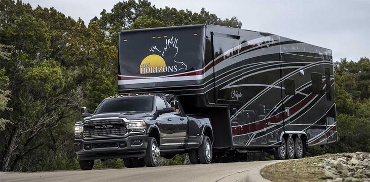 Пикапы Ram 2500 и Ram 3500 2019 модельного года представлены в Детройте