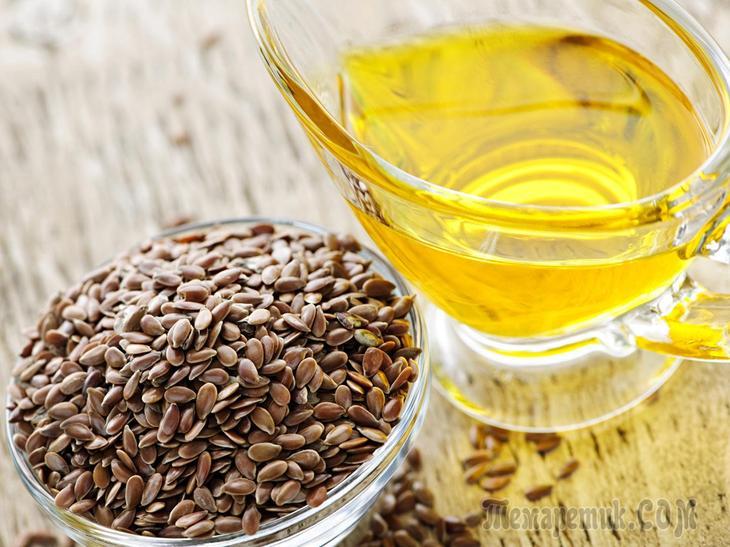 Льняное масло натощак утром польза и вред