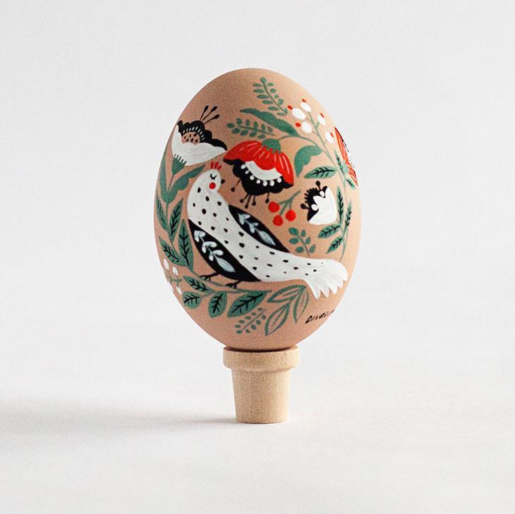 Пасхальные яйца фольклорные мотивы от художницы из Узбекистана Динары Мирталиповой, фото № 41