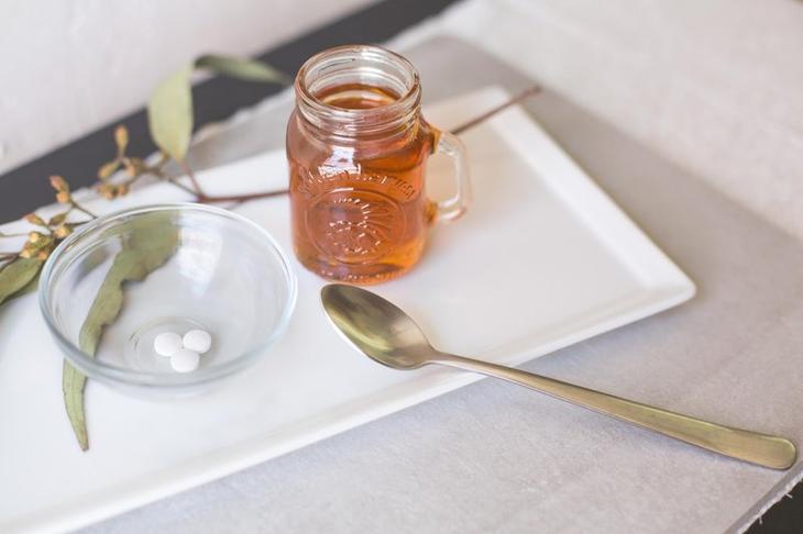 Ингредиенты для маски с аспирином