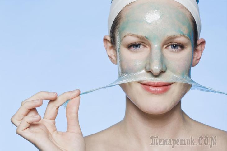 Как сделать маску для лица из желатина от морщин