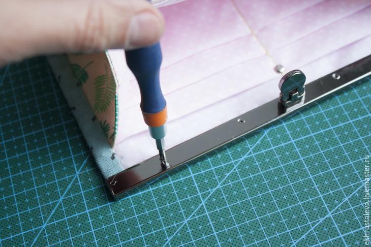 Мастер-класс как сшить кошелек с плоским замком, фото № 28