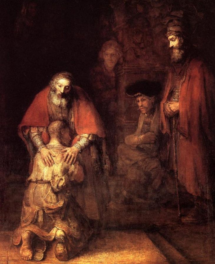 Рембрандт и блудный сын: история великой картины