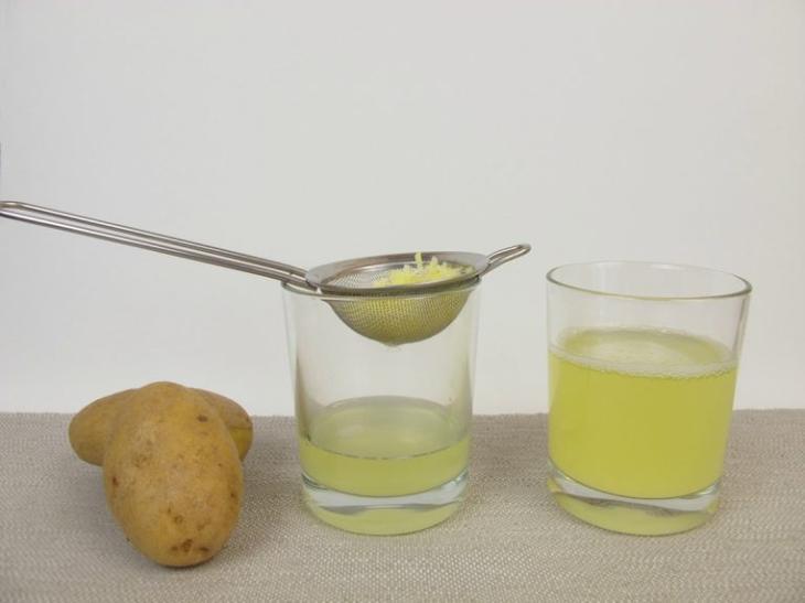 Сок сырого картофеля при гастрите