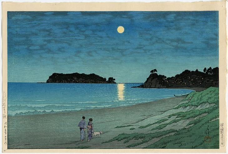 "Хасуи Кавасэ. ""Шичиригахама, Сошу"". 1930г."