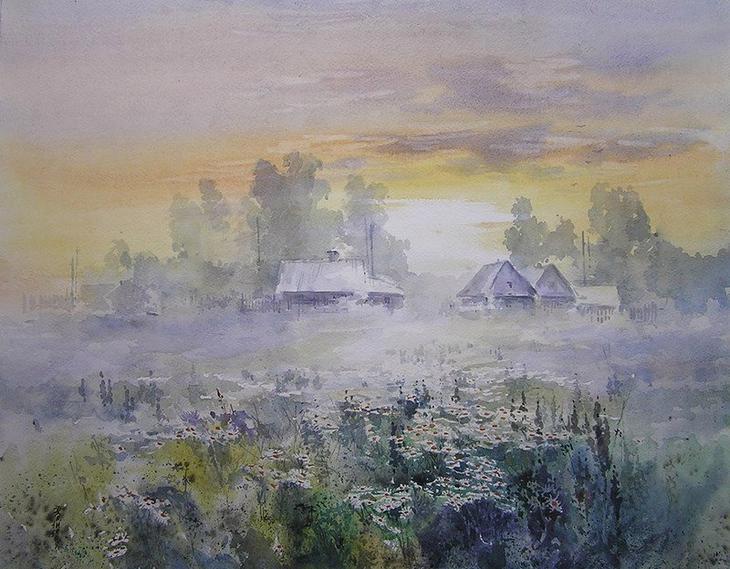 акварели художник Игорь Хайков - 03