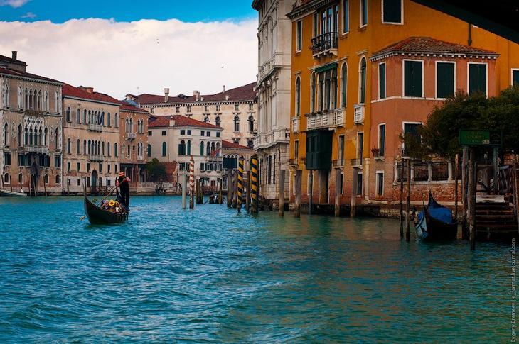 Виды Венеции со стороны Гранд канала