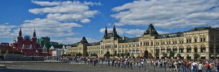 Красная площадь в Москве