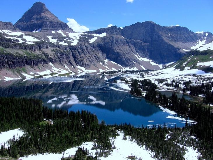 Природа, национального парк, Глейшер Монтана, Glacier National Park