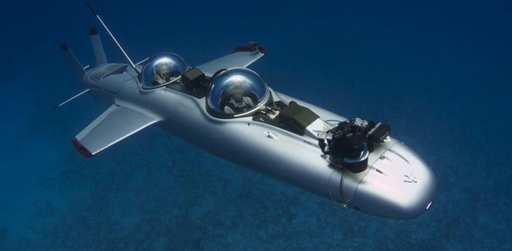 Подводная лодка DeepFlight Super Falcon / © deepflight.com