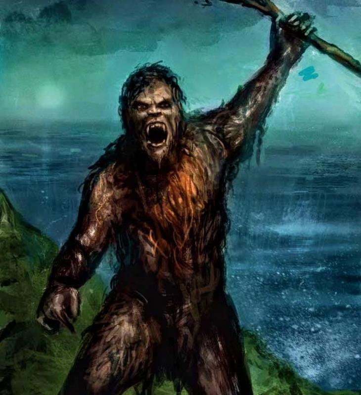 15. Йови мифические существа, мифология, монстры, существа